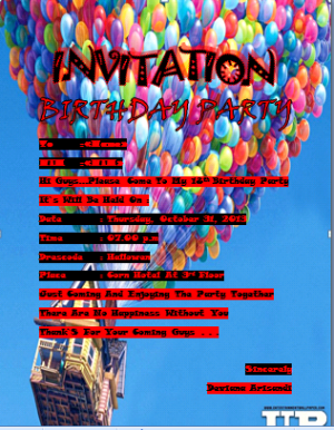 DEVAIANA INVITATION AJ